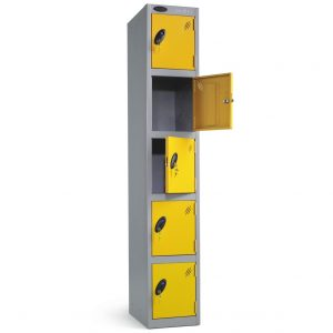 5 Compartment Lockers